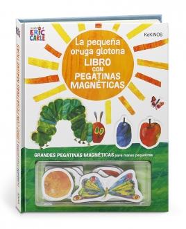 La pequeña oruga glotona libro con pegatinas magnéticas
